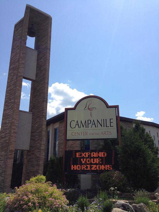 campanile-outside-sign