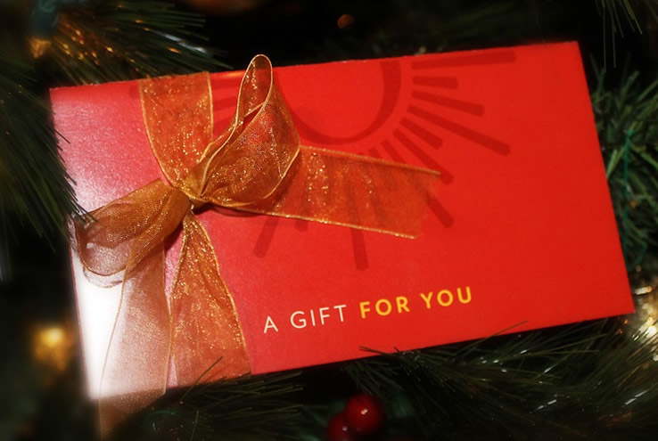 Gift Card Webpage